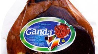 Ganda Ham half opgekuist