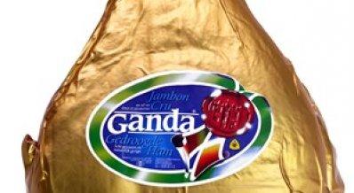 Ganda Ham luxe (goudzak)
