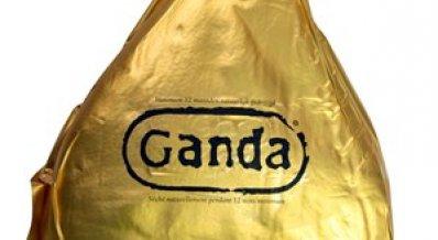 Ganda Ham 12 maanden lang model, gouden label