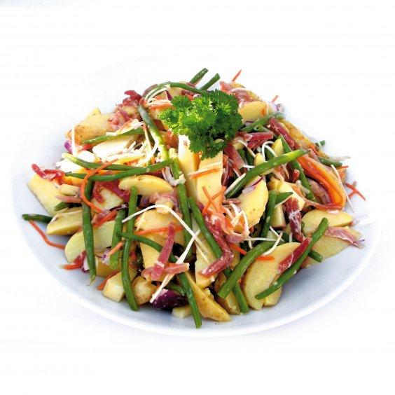 aardappelsalade Ganda Ham